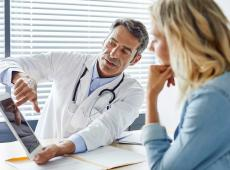 patient bij dokter